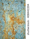 close up of peeling paint on a...   Shutterstock . vector #408442204
