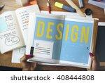 design creative inspiration... | Shutterstock . vector #408444808