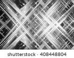 abstract grey fractal... | Shutterstock . vector #408448804