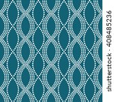vector seamless chain pattern.... | Shutterstock .eps vector #408485236