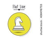 flat line icon design   Shutterstock .eps vector #408498703