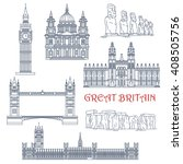 Landmarks Of Great Britain And...