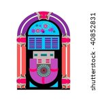 jukebox | Shutterstock .eps vector #40852831