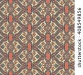 islamic arabic indian motif ... | Shutterstock .eps vector #408549856