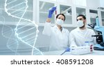 science  chemistry  technology  ... | Shutterstock . vector #408591208