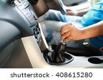 manual gear shift | Shutterstock . vector #408615280