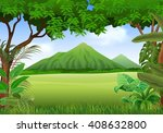 illustration of beautiful... | Shutterstock .eps vector #408632800