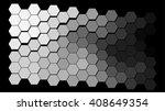 abstract hexagonal pattern on a ...   Shutterstock .eps vector #408649354