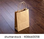 photo of bag. template for... | Shutterstock . vector #408660058
