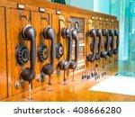 historical  telecommunication   | Shutterstock . vector #408666280