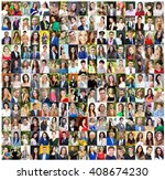 collection of different... | Shutterstock . vector #408674230