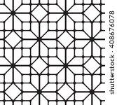 cubic simless pattern seamless... | Shutterstock .eps vector #408676078