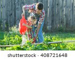 Little Gardener Girl Helping...