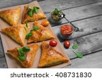delicious deep fried south...   Shutterstock . vector #408731830