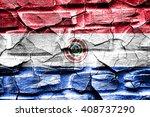 paraguay flag | Shutterstock . vector #408737290