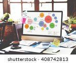 office floor plan sketch...   Shutterstock . vector #408742813