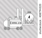 industry truck design   vector... | Shutterstock .eps vector #408794320