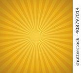 vector golden sunburst... | Shutterstock .eps vector #408797014