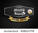 black friday special offer | Shutterstock . vector #408814798