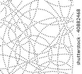stylish black and white... | Shutterstock .eps vector #40882468