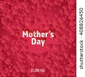 happy mother's day greeting... | Shutterstock .eps vector #408826450