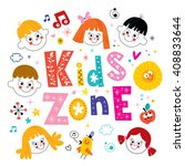 kids zone   Shutterstock .eps vector #408833644
