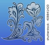 winter flowers | Shutterstock .eps vector #408841420
