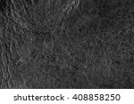 black leather texture background | Shutterstock . vector #408858250