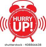Hurry Up Alarm Clock Icon ...