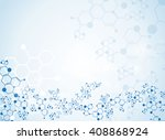 abstract background medical... | Shutterstock .eps vector #408868924