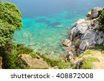 sardinia   capo testa  ... | Shutterstock . vector #408872008