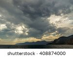 Stormy Sky Over Lake Baikal ...