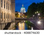 Stock photo hannover city hall rathaus 408874630