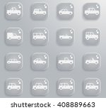 cars simply  simply symbols for ... | Shutterstock .eps vector #408889663