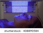 healing blue light therapy... | Shutterstock . vector #408890584