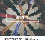 benefits advantage assistance... | Shutterstock . vector #408906178