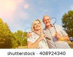 Happy Senior Couple While...