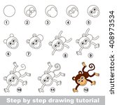 raster copy. step by step... | Shutterstock . vector #408973534