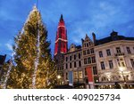 Christmas On Grote Markt In...