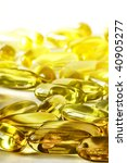 the group of yellow pill with... | Shutterstock . vector #40905277