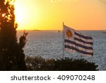 sunset view from colonia del... | Shutterstock . vector #409070248
