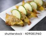 Ginger Dumplings With Pork...