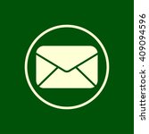mail envelope icon. letter...