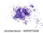 crushed eyeshadow isolated on... | Shutterstock . vector #409097608