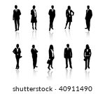 business people | Shutterstock .eps vector #40911490