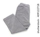 kid pants isolated on white...   Shutterstock . vector #409122718