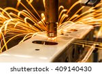 spot welding machine industrial ... | Shutterstock . vector #409140430