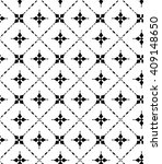 a simple vector pattern made... | Shutterstock .eps vector #409148650