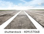 airport runway background and... | Shutterstock . vector #409157068