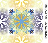 vector abstract seamless... | Shutterstock .eps vector #409199200
